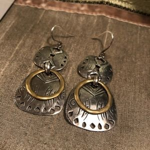 Silpada Boho Earrings